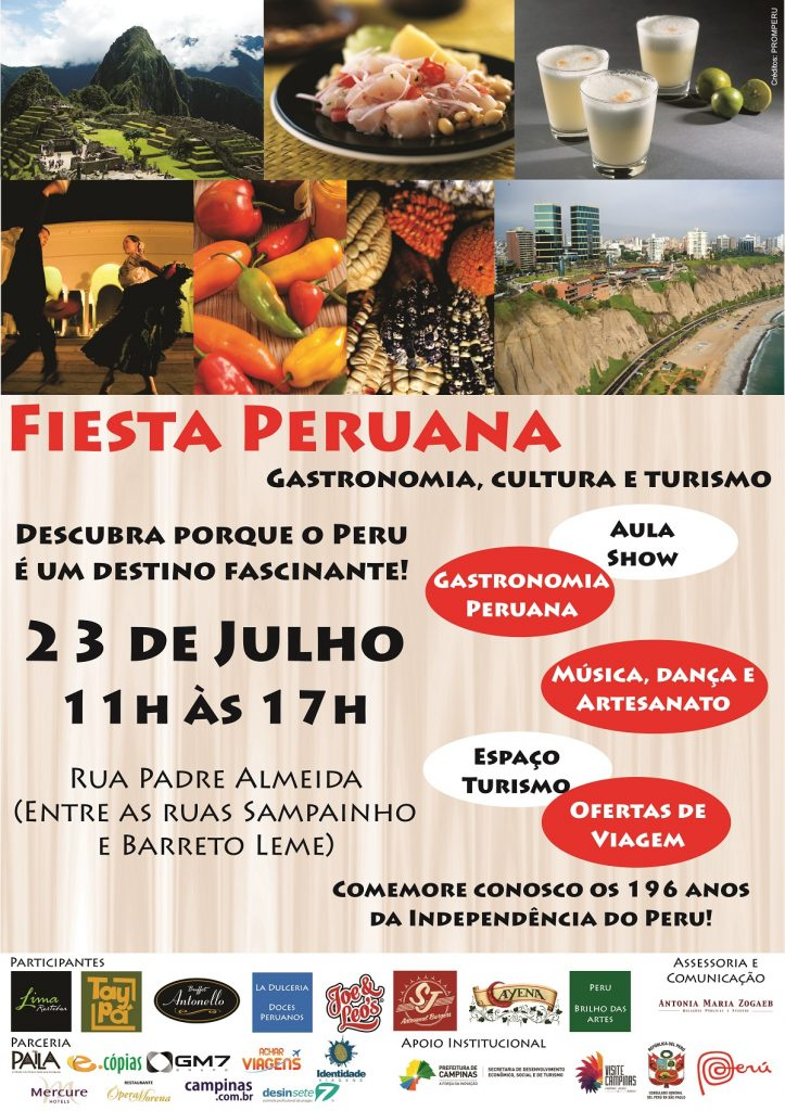 Fiesta Peruana 23 de julho