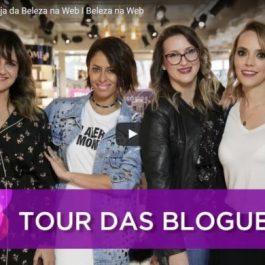 tour blogueiras - beleza na web